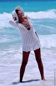 Королева пляжа - туника крючком. Комментарии : LiveInternet - Российский Сервис Онлайн-Дневников