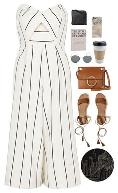 """Untitled #2892"" by wtf-towear ❤ liked on Polyvore featuring River Island, Karen Millen, Hollister Co., Eyevan 7285, Momeni, Xenab Lone, OUTRAGE and Casetify"