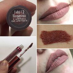 * LA Splash Velvet Matte Liquid Lipstick in Tiramisu.