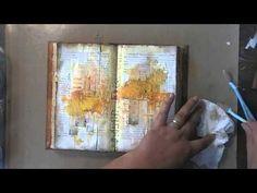 'Freedom'... art journaling - YouTube