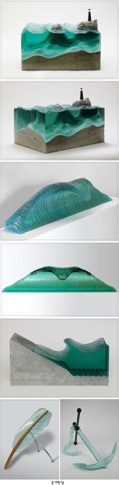 Beautiful Glass Sculptures by Ben Young