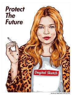 Kate Moss   Supreme by Degital Sketch