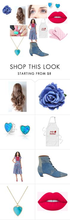 """""""Kathleen Valentines Day Cooking Outfit"""" by katieluv2sing18 ❤ liked on Polyvore featuring Bling Jewelry and Jennifer Meyer Jewelry"""