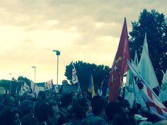 13/09/14 Capo Frasca, 12mila contro le servitù. Manifestanti entrati nel poligono (LEGGI)