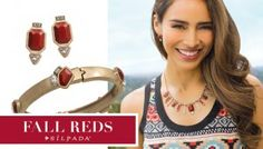 Fall in love with the rich red shades in Silpada's 2015 Fall/Winter Collection.