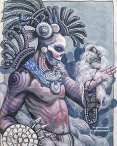 New art mexicano maya Ideas Mayan Tattoos, Mexican Art Tattoos, Chicano Drawings, Chicano Art, Chicano Tattoos, Aztec Statues, Aztec Religion, Aztec Warrior Tattoo, Arte Cholo