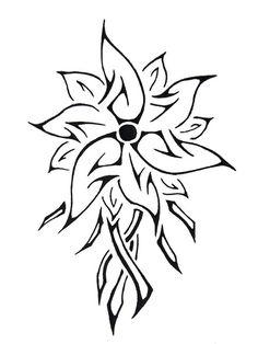 38 Best Flower Indian Tattoos Images Tribal Flower Tattoos Flower