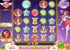 Moon Princess es una vídeo tragamonedas que se juega en una cuadrícula de 5x5. Los símbolos caen hacia abajo en la cuadrícula para formar combinaciones ganadoras. #MoonPrincess #casinojuegos
