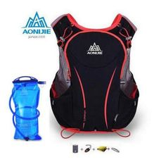 29.95$  Watch here - http://ali74c.shopchina.info/go.php?t=32803924048 - AONIJIE Women Men 5L Light Wight Outdoor Sport Running Backpack Marathon Hydration Vest Pack Bag Cycling Hiking Bag 29.95$ #buyininternet