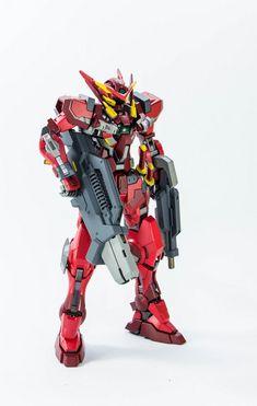 Custom Build: MG 1/100 Gundam Astraea Type F - Gundam Kits Collection News and Reviews