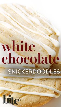 Lisa has made the snickerdoodle, an old fashioned cookie with a cinnamon-sugar coating and a sweet, buttery flavor, even more delicious. The addition of white chocolate chunks and a white chocolate drizzle to this easy cookie recipe lends it a creamy, dreamy and oh-so-scrumptious modern twist #cookierecipe #sweettooth #easybaking Spring Food, Fall Food, Summer Food, Winter Food, Chocolate Heaven, Chocolate Lovers, Chocolate Drizzle, White Chocolate, Easy Cookie Recipes