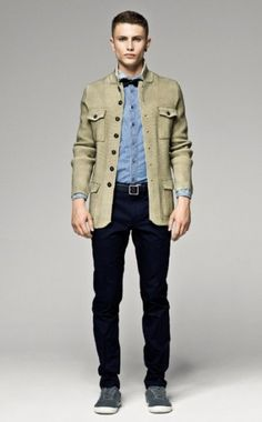 ss12 man look 12 420x677 372x600 Andrea Bellisario & Jacob Young for Sisley Spring/Summer 2012