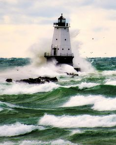 Lighthouse, Ludington, Michigan