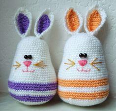 Happy Easter Eggs. Free pattern in German