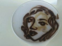 Awesome latte art.