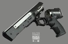 ArtStation - Roke Arms .357, Ben Bolton