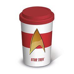 Star Trek Insignia Official New Travel Mug @ niftywarehouse.com #NiftyWarehouse #StarTrek #Trekkie #Geek #Nerd #Products