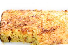 Squash And Cornbread Casserole Will Keep Them Coming To The Table - Page 2 of 2 - Recipe Roost Side Dish Recipes, Veggie Recipes, Vegetarian Recipes, Cooking Recipes, Side Dishes, Main Dishes, What's Cooking, Candy Recipes, Appetizer Recipes