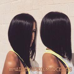 coupe pour cheveux mi long femme | Coiffure simple et facile