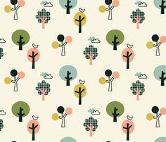 Orchard 02 fabric by amel24 on Spoonflower - custom fabric