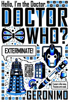Doctor Who: Poster by ~jacqui-kate