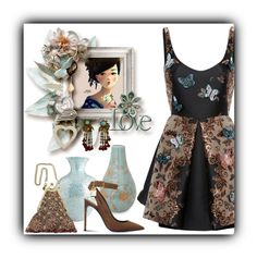 """""""Untitled #519"""" by whiteflower7 ❤ liked on Polyvore featuring Zuhair Murad, NOVICA, Pier 1 Imports, Tom Ford, Vintage Addiction and Miriam Haskell"""