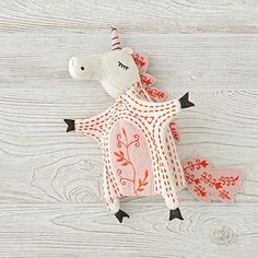 Medieval Unicorn Hand Puppet | The Land of Nod