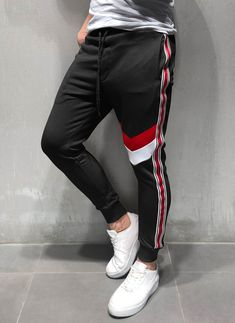 Fashion men's sweatpants new jogger men's pants casual men's fitness sportswear bodybuilding trousers men's clothing Nike Baby Clothes, Tracksuit Pants, Men's Pants, Mens Cotton Shorts, Mens Designer Shirts, Mens Sweatpants, Tee Shirt Designs, Sporty Outfits, Mens Clothing Styles