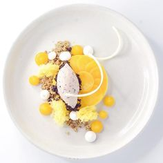 Mango Panna Cotta, Fermented Black Sticky Rice and Ice Cream, Mango Fluid Gel, Black Sesame Crumble • #shintamaniangkorbensleycollection #shintamanisiemreap #butler #invilladining #siemreaprestaurant #cambodia #gastroart #culinareinspiratie #luxuryhotel #mymuybuenochefs #gourmetartistry #chefsroll #chefstalk #chefsofinstagram #chefsplateform #foodstarz_official #gourmetparadise #dessert #plateddessert #foodphotography #foodblogger #foodie .