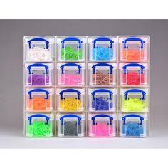 Really Useful Box Oppbevaringssett RUP 16x0,14 L Klar   Staples®