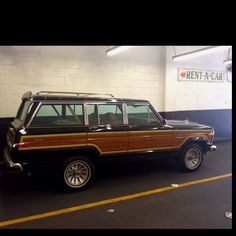 1963 - 1991 Jeep Grand Wagoneer.  I have no idea why, but I've always wanted one of these.  My Cherokee will do for now, though...