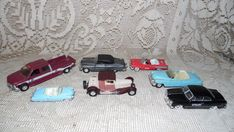 VINTAGE DIECAST CARS ROADCHAMP PEDDLE CAR TEXACO + MORE LOT OF 7 #Matchbox