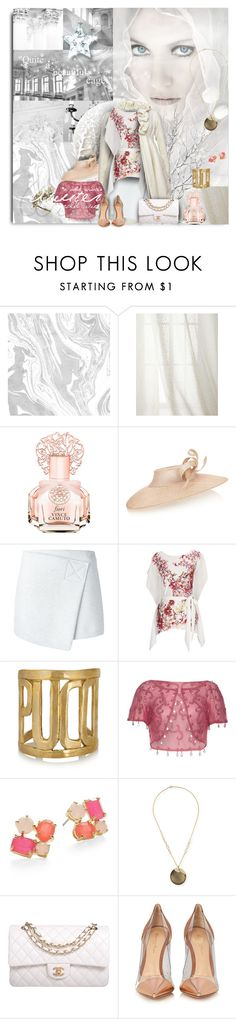 """""""Winter Time"""" by wildnature ❤ liked on Polyvore featuring Legacy Home, Vince Camuto, Philip Treacy, Kelly Ewing, Marc by Marc Jacobs, Wallis, Emilio Pucci, Kate Spade, Alexis Bittar and Chanel"""