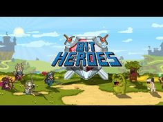 Bit Heroes android game first look gameplay español