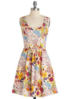 Good Enough to Illustrate Dress, #ModCloth