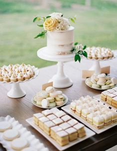 Dessert Bar Wedding, Wedding Sweets, Wedding Reception, Wedding Themes, Wedding Cupcake Table, Wedding Dinner, Elegant Wedding, Rustic Wedding, Wedding Food Bars