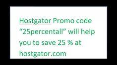 Hostgator Promo Code- Get 25 % Off At Hostgator Using Coupon 25PERCENTALL