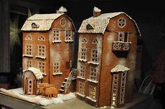 Alexander Ebbersten Nyproduktion i klassisk tradition Gingerbread Village, Christmas Gingerbread House, Gingerbread Cookies, Christmas Cookies, Holiday Baking, Christmas Baking, Christmas Holidays, Christmas Crafts, Christmas Decorations