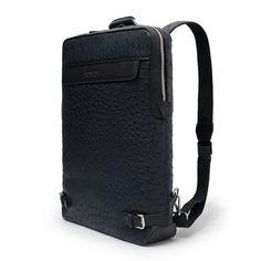 Ostrich Backpack Mens Business Bag for Laptop HARIBON 444 (5)