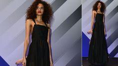 La colección de Rihanna Rihanna, Strapless Dress, Dresses, Fashion, Templates, Short Shorts, Sweatshirts, Long Dresses, Singers