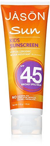 Jason Kids Sunscreen Lotion SPF 45 4 oz >>> Check out this great product.