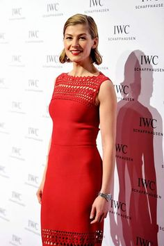 Dress du Jour: Rosamund Pike Is a Hollywood Screen Siren in.: Dress du Jour: Rosamund Pike Is a Hollywood Screen Siren in… Rosamund Pike, English Actresses, British Actresses, Adriana Lima, Top Celebrities, Celebs, Gone Girl Actress, Teresa Palmer, Gala Dinner