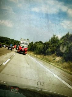 Auf dem Weg zur #Wolfsmeile auf der #Autobahn A7