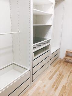 Customizing your IKEA PAX Wardrobe Ikea Closet Hack be1ca20db