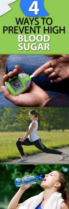4 Ways to Prevent High Blood Sugar