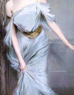 """Madame Charles Max"" (1896) (detail) by Giovanni Boldini (1842-1931). Giovanni Boldini, Renaissance Paintings, Renaissance Art, Italian Renaissance, Aesthetic Painting, Aesthetic Art, Princess Aesthetic, Victorian Art, Classical Art"