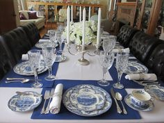 The Welcomed Guest: Johnson Brothers Old Britain Castles Tablescape