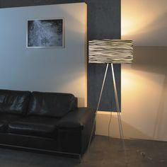 Brava - osvětlení - černý dekor / Floor Lamp Tripod Lamp, Floor Lamp, Flooring, Lighting, Design, Home Decor, Decoration Home, Room Decor, Floor Lamp Base
