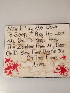 """This is for my sons bedroom doors.....Although I think they would like the challenge of zombies showing up at their doors! More """"things"""" to shoot their airsoft rifles at! ;-p"""