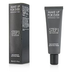 MAKE UP FOR EVER Step 1 Skin Equalizer Mattifying Primer) * Read more info by clicking the link on the image. Skin Primer, Mattifying Primer, Hydrating Primer, Foundation Primer, Makeup Primer, Makeup Tips, Makeup Products, Makeup Foundation, Makeup Ideas